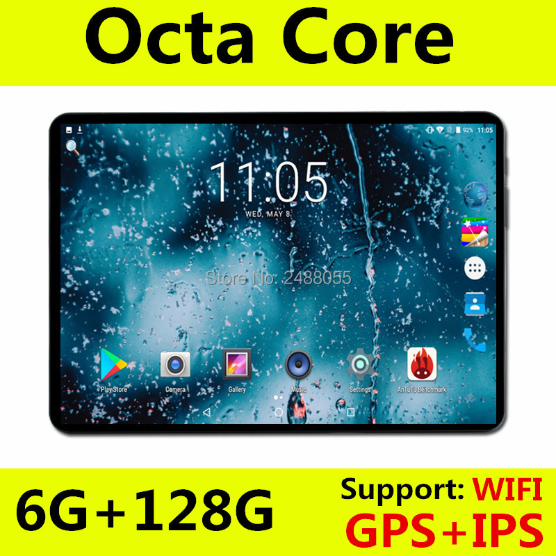 Core-Tablet Computer Dual-Sim-Cards OS Android 8.0 4G Gps-Pad 10inch Octa LTE 1280x800