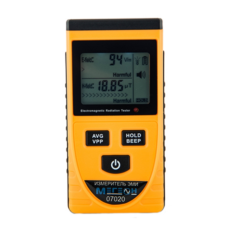 Level meter electromagnetic field MEGEON 07020 mastech ms6701 lcd display digital sound level meter 30 130db