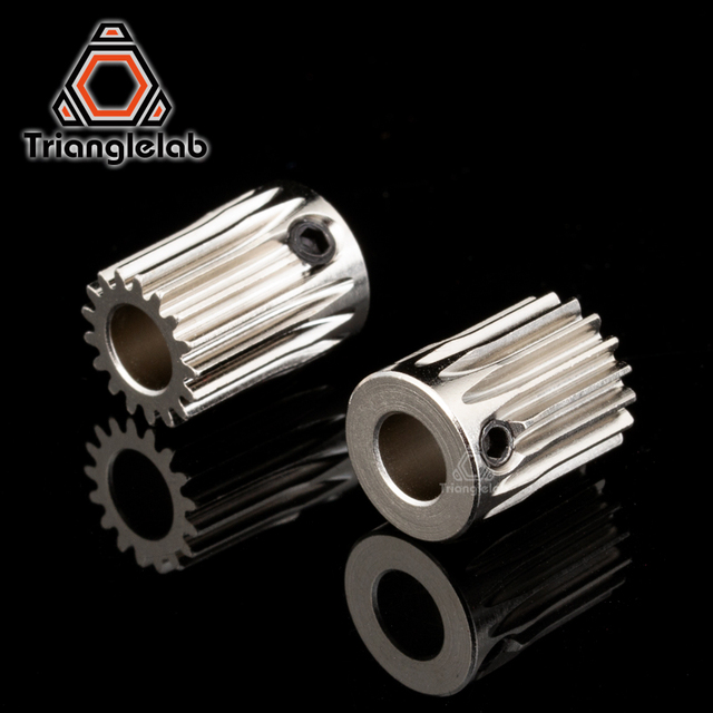 Trianglelab Hardened steel BMG Extruder GAER  Pinion Gear 5mm/0.5M 17T for Extruder motor Gaer  for Extrusion wheel  titan