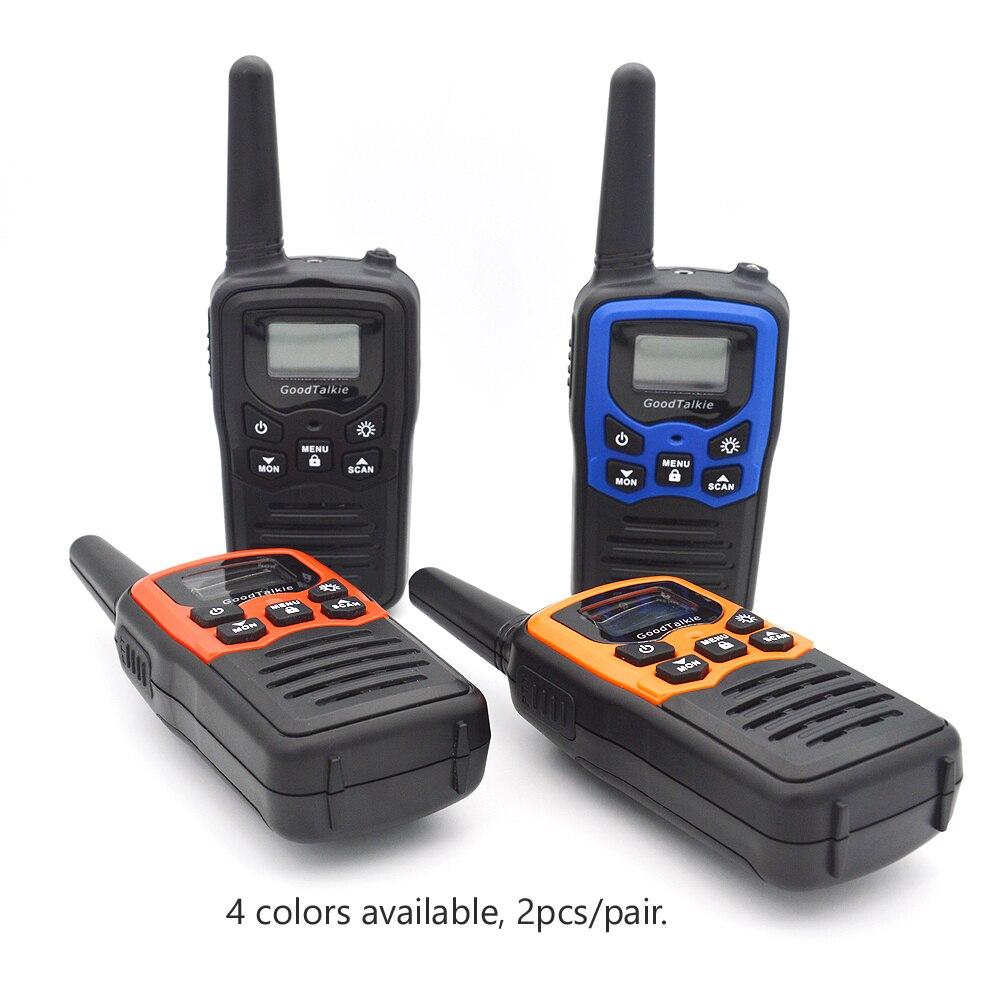 Image 4 - 2pcs GOODTALKIE T5  Walkie Talkie UHF Frequency Portable Two Way Ham Radio Custom Walkie Talkie Case-in Walkie Talkie from Cellphones & Telecommunications