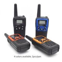uhf שני הדרך רדיו 2pcs GOODTALKIE T5 מכשיר הקשר UHF תדירות Portable Custom רדיו שני הדרך Ham ווקי טוקי Case (4)