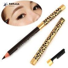 1 Pcs Double Waterproof eyebrow pencil weatproof with brush Eyebrow Enhancer Makeup