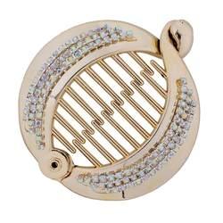 Распродажа, новые аксессуары Haar для женщин для модных пластиковых витых Расческа с зажимом Diy Craft рыбий хвост, заколки для волос