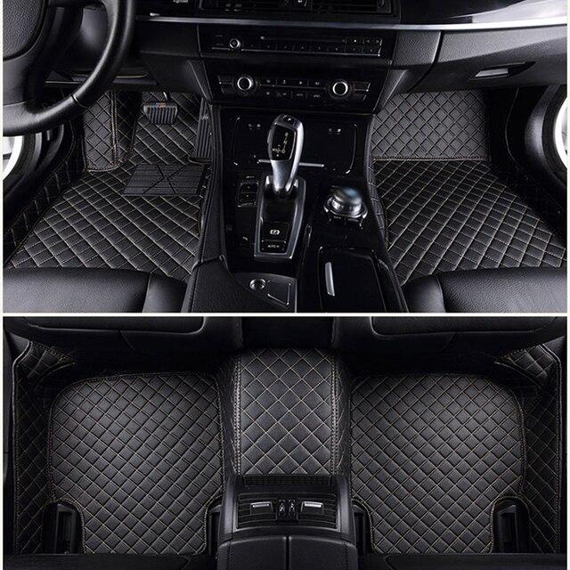 ChiTu custom car floor mats for mitsubishi pajero sport 2 outlander xl pajero 4 galant 2008 grandis accessories car mats