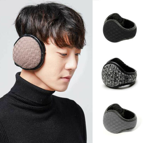 Unisex Plush Earwarmers Winter Soft Solid Thicken Women Men Ear Warmer Earmuffs