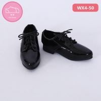 Shoes For Fid BJD Doll 1 pair 8.2cm PU Leather Fashion Toy Dexter Rex Tedros Felix Lawrence Shoes 1/4 Doll Accessories
