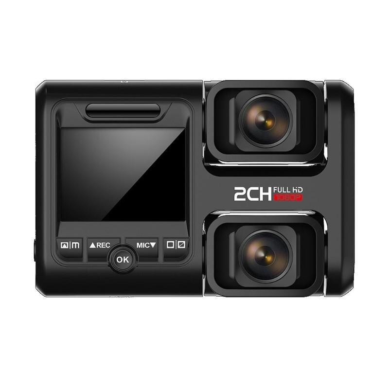 Câmera Do Carro DVR T692C 2.0 Polegada VODOOL LCD 1080 p FHD Dual Lens Night Vision Cam Traço Gravador de Vídeo Do Carro traço Câmera de Alta Qualidade