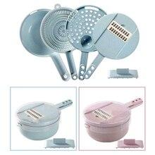Слайсер ПВХ овощерезка Shred Supplise Chopper кухонный контейнер для яиц Многофункциональный дикер ручные домашние инструменты для нарезки приготовления пищи
