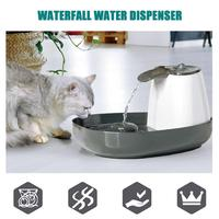 Dogs Cats Water Dispenser Electric Cycle Filter Hyperoxia Water Fountain Pet Supplies Waterfall type Water Dispenser