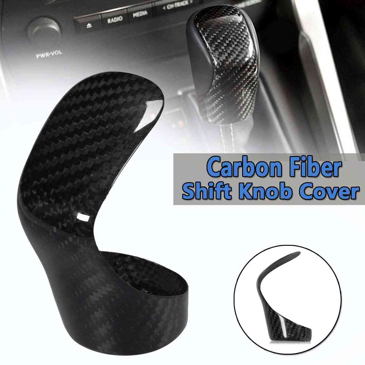 Реальные углеродного волокна переключения Ручка двери подходит для Lexus IS250/350/200TNX CT ES GS RX RC 2014-17 для украшения рулевое колесо с отделкой
