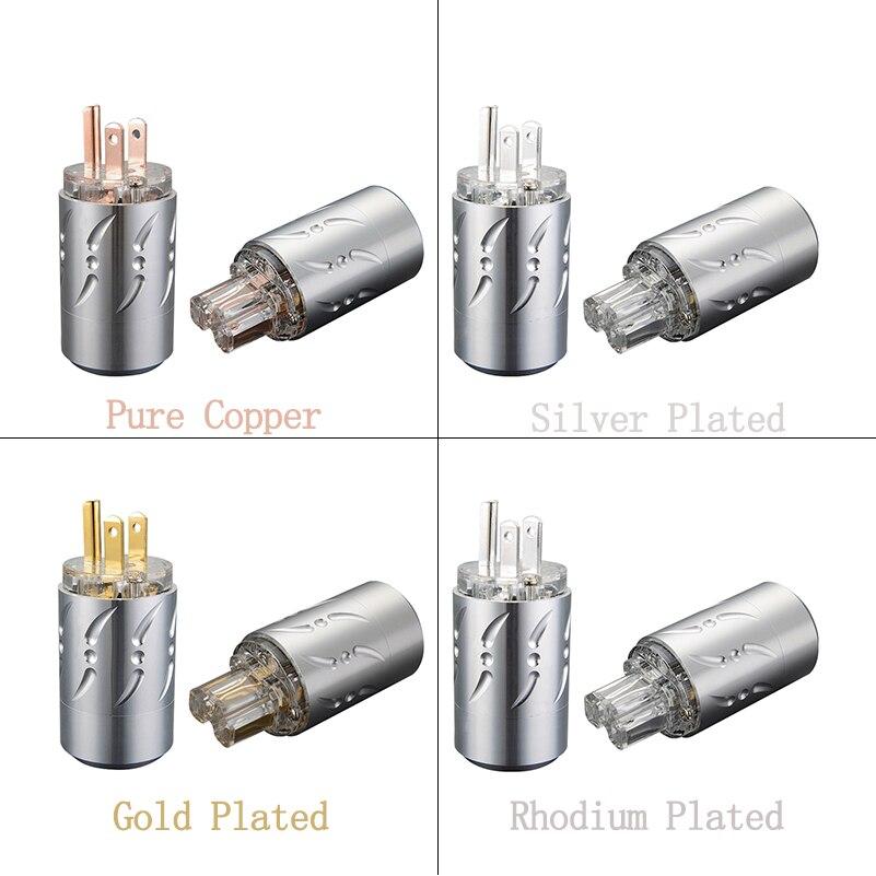 Здесь можно купить  Viborg Hi End US AC Audio Power Plug Pure Copper Silver/Gold/Rhodium Plated Available VM512 VF512 Plug IEC Connectors  Бытовая электроника