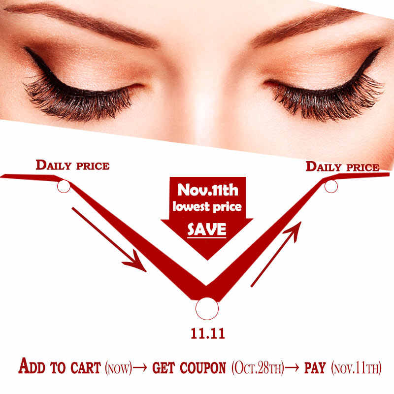 8fcaff12849 ... 5 Pairs Natural False Eyelashes Handmade Long Wispy Lashes Makeup Black  Eyelash Extension Kits
