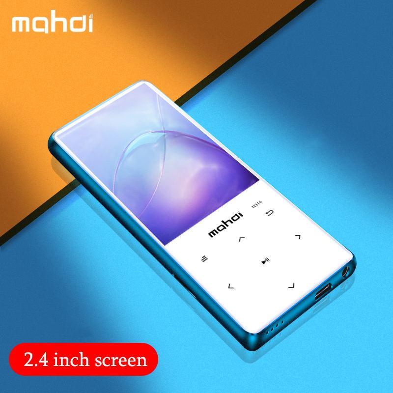 Mahdi 8G 16G 2.4 pouces Mini lecteur MP3 bluetooth sans perte HiFi musique Portable haut-parleur Audio Radio FM avec livre électronique