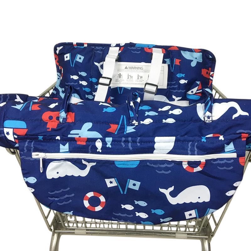 Infant Child Supermarket Shopping Cart Seat Cushion Chair Cu