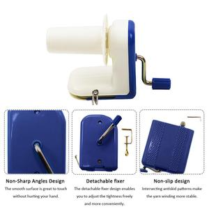 Image 4 - Household Hand Operated Wool Yarn Ball Winder Winding Twining Machine Thread Balls Wool Winding Machine Carton Packaging