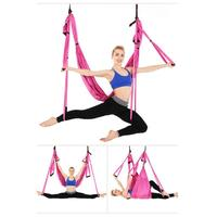 Official Band Yoga Trapeze Strength Yoga Hammock Anti gravity Swing/Sling/Inversion Tool For Women Sport Fitness Yoga Gym Set
