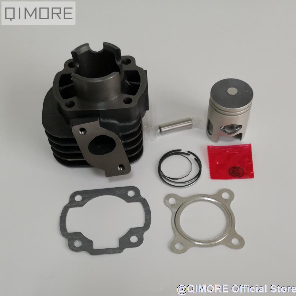 US $13 05 10% OFF|40mm Cylinder Piston Set (10mm pin) for 2 stroke Scooter  Minarelli 1E40QMB JOG50 3KJ KEEWAY Hurricane 50 ZIP 50 Stels Skif 50-in