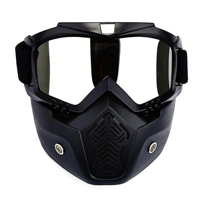 Men's Skiing Snowboard Winter Goggles Mask Wintproof Cycling Motocycle Glasses Snowmobile Sunglasses Masque