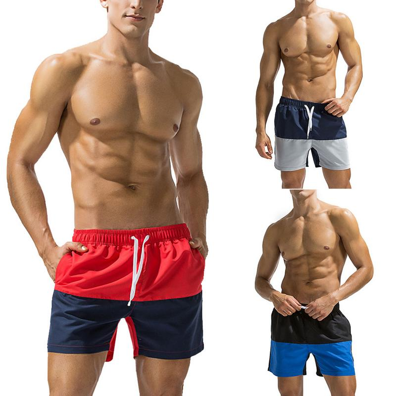 Comfortable Men 39 s Assorted Color Loose Beach Pants Casual Large Size Shorts Swim Pants For Beaches Swim Catwalks Summer Parties in Body Suits from Sports amp Entertainment