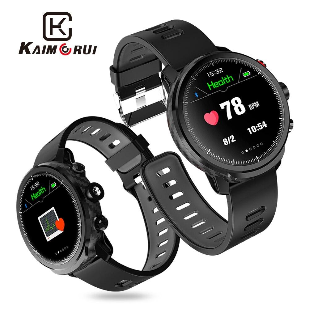 Kaimorui Смарт часы для мужчин IP68 Водонепроницаемый Шагомер монитор сердечного ритма фитнес трекер умные часы для Android и IOS Телефон