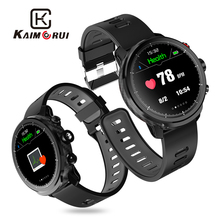 Kaimorui Smart Watch Men IP68 Waterproof Pedometer Heart Rate Monitor Fitness Tracker Smartwatch for Android and IOS Phone kaimorui kr02 smart bracelet gps ip68 waterproof pedometer heart rate fitness tracker color screen for xiaomi android ios phone