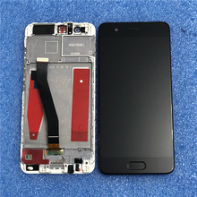 "Original For 5.1"" Huawei P10 VTR-AL00 VTR-L09 VTR-L29 VTR-TL00 Axisinternational LCD Display Screen Frame Touch Panel Digitizer"