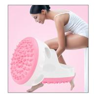Electric Heating Brush Acupuncture Meridian Therapy Fat burner Anti Cellulite Body Lymphatic Drainage Massage L3