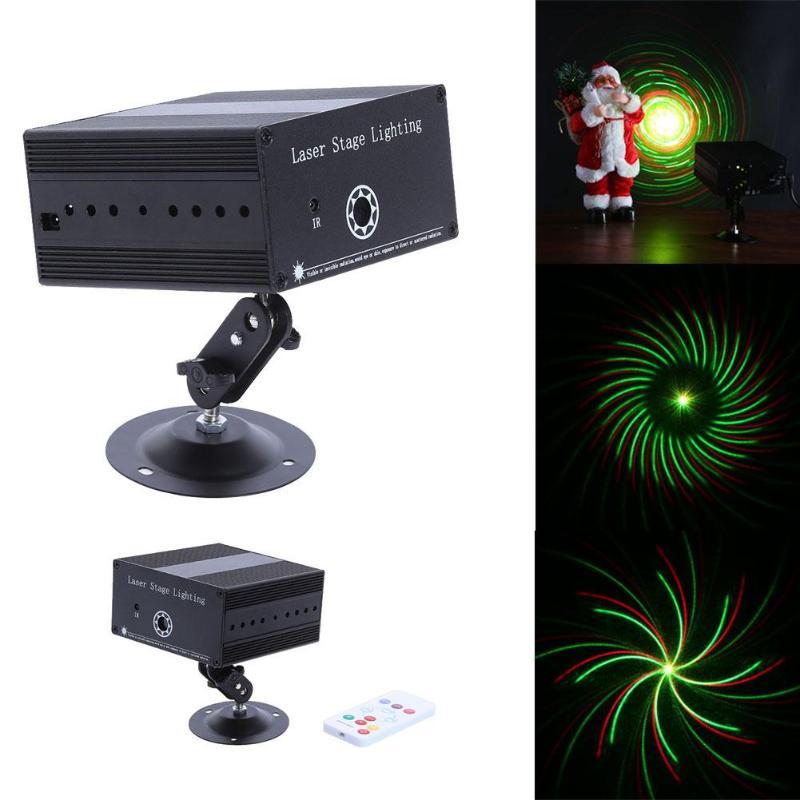 Mini 36 Pattern Laser Projector Stage Lighting LED RGB Light Party DJ Disco