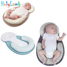 2019 New Baby Newborn Portable Bed Travel Cot Baby Nest Sleeping Beds Breathable Cradle Mattress Infant Nursery Multi-function babysing multi function baby safety car seat portable baby sleeping basket infant cradle for 0 15 months kids