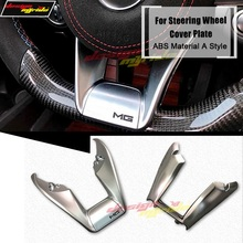 W117 Interior Steering Wheel Low Covers plate ABS silver CLA-Class CLA180 CLA200 CLA250 Cover A-Style 2014-in