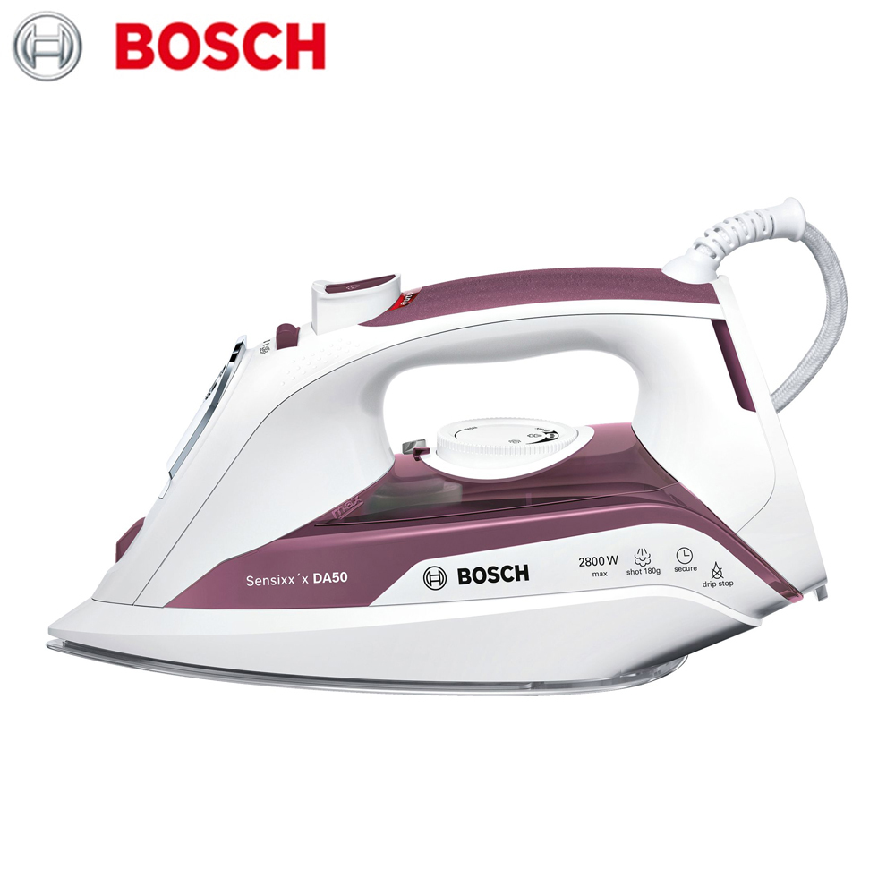 Electric Irons Bosch TDA5028110 household appliances laundry steam iron ironing clothes утюг bosch tda5028110