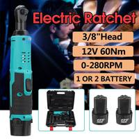220V 3/8 inch Cordless Electric Ratchet Wrench 12V Electric Impact Wrench Lithium Ion Battery Standable Power Tools