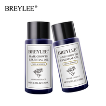 Breylee 2pcs Hair Growth Essential Oil Fast Powerful Products Care Prevent Baldness Anti-hair Loss Serum Increase