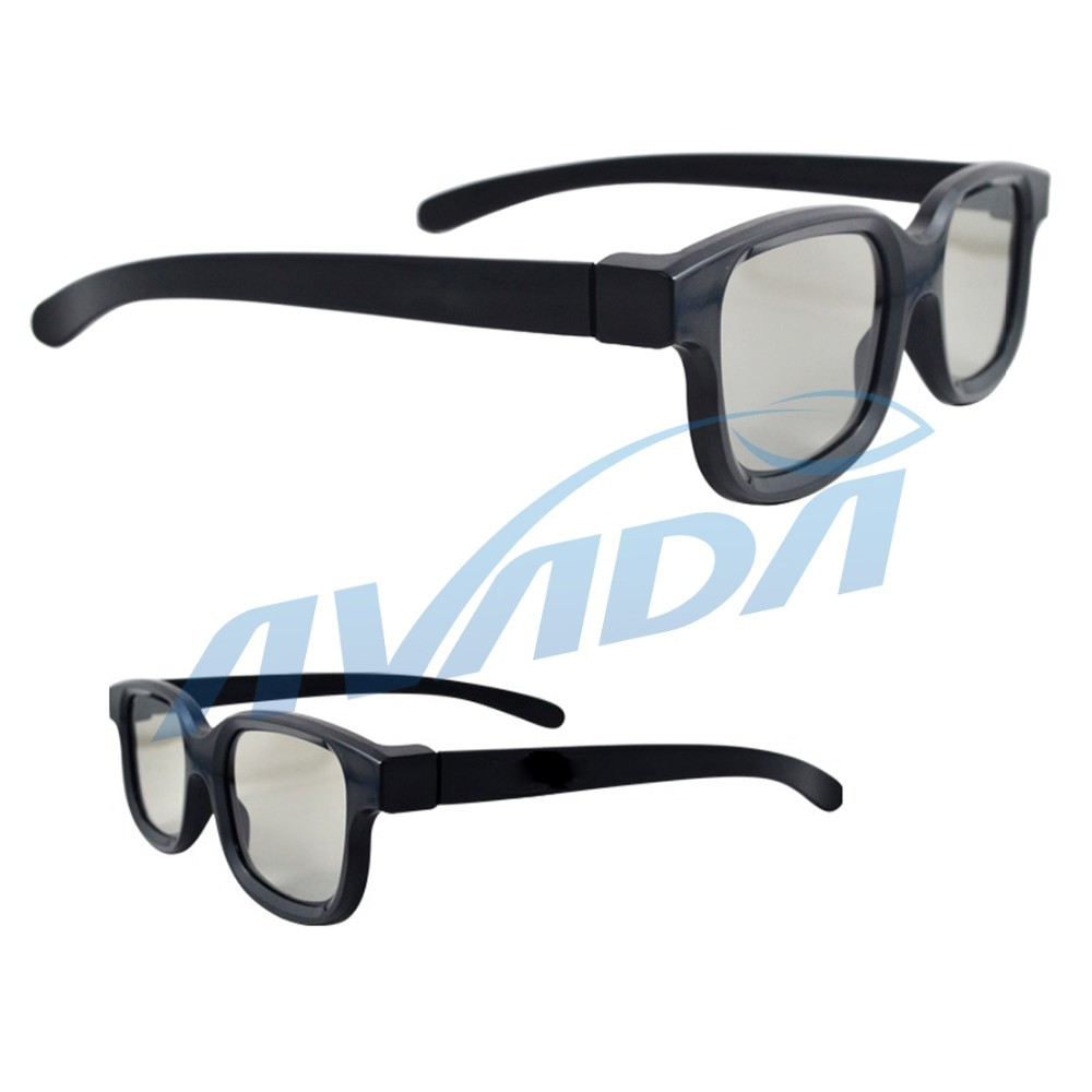 Free Shipping 50pcs/lot 3D Linear Polarized Glasses 45/135 Degrees Linear Polarized 3D Glasses(China)