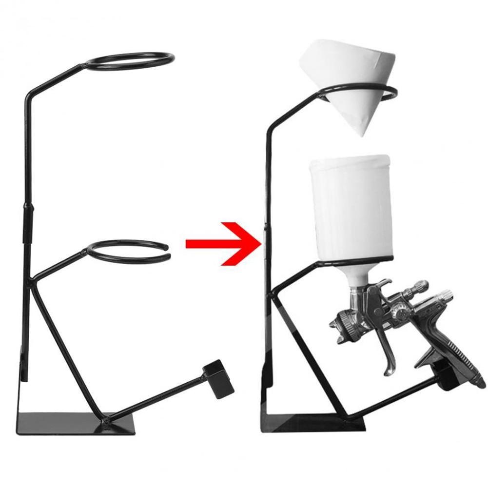 Новейший кронштейн для пульверизатора, держатель для гравитационного пистолета, подставка для распылителя с фильтром, держатель для стенового стенда, инструменты для краски Детали инструментов      АлиЭкспресс