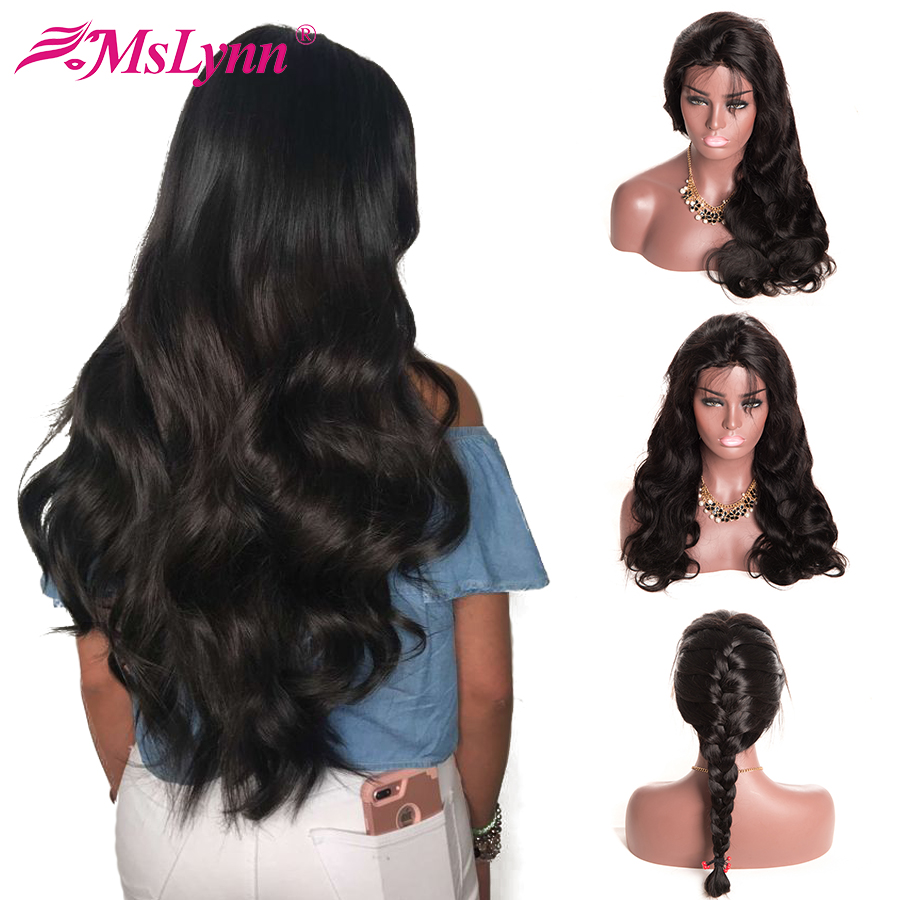 Body Wave Lace Front Wig Brazilian Lace Front Human Hair Wigs For Black Women Pre Plucked