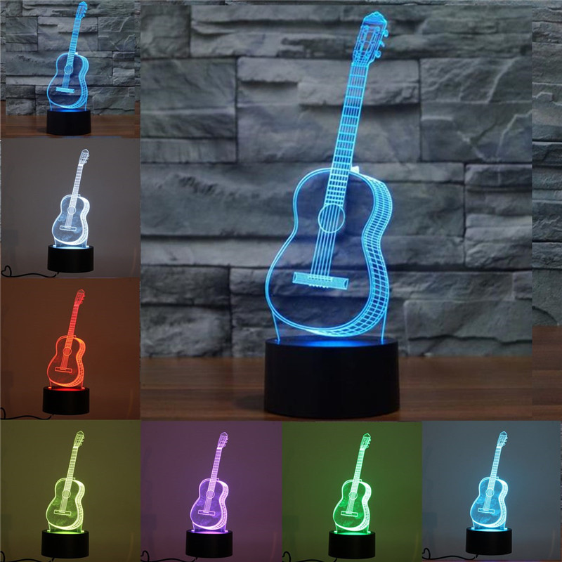 3D Ukulele Guitar Model Night Light T ouch 7 Colors Changing LED Table Lamp Decor Gifts Home Christmas Decor3D Ukulele Guitar Model Night Light T ouch 7 Colors Changing LED Table Lamp Decor Gifts Home Christmas Decor