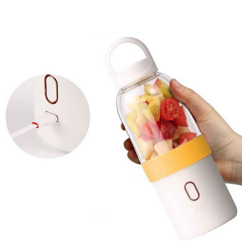 550 ml Portátil Copo Espremedor de Frutas Vegetal Batido Misturador Milk Shake Liquidificador USB Mão Liquidificador Pessoal Pequeno Extrator De Suco