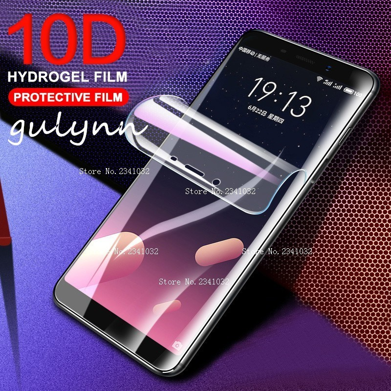 10D Full Cover Soft Hydrogel Film For Meizu Pro 7 Pro7 Plus HD Screen Protective Film For Meizu 16 16X 16Plus ( Not Glass )