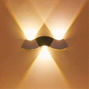 Indoor LED wall light 3W wavel