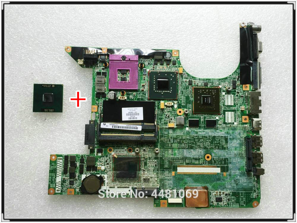 For HP DV6000 DV6500 DV6700 DV6600 DV6800 DV6900 Notebook 460900-001 446476-001 Motherboard PM965 100% Test Good