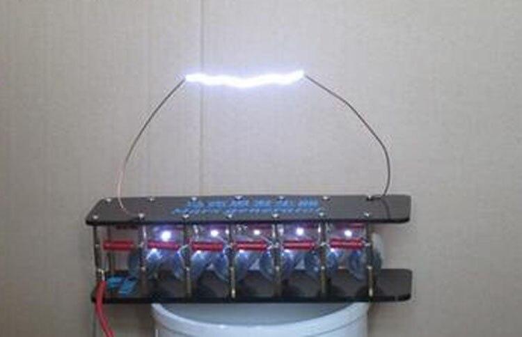 Kit de bricolage de foudre de générateur d'impulsion d'arc de Tesla de générateur de Marx de 6 étapes pour le panneau de conducteur de retour de mouche de ZVS/bobine d'allumage