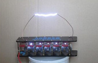 6 Stage Marx Generator Tesla Arc Pulse Generator Lightning DIY Kit for ZVS Flyback Driver Board /ignition coil