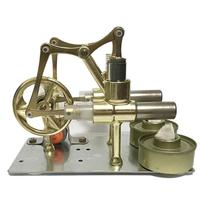 Low Temperature Stirling Engine Motor Model Heat Steam Education DIY Model Kids Toy Gift Science Craft Ornament Discovery Toy