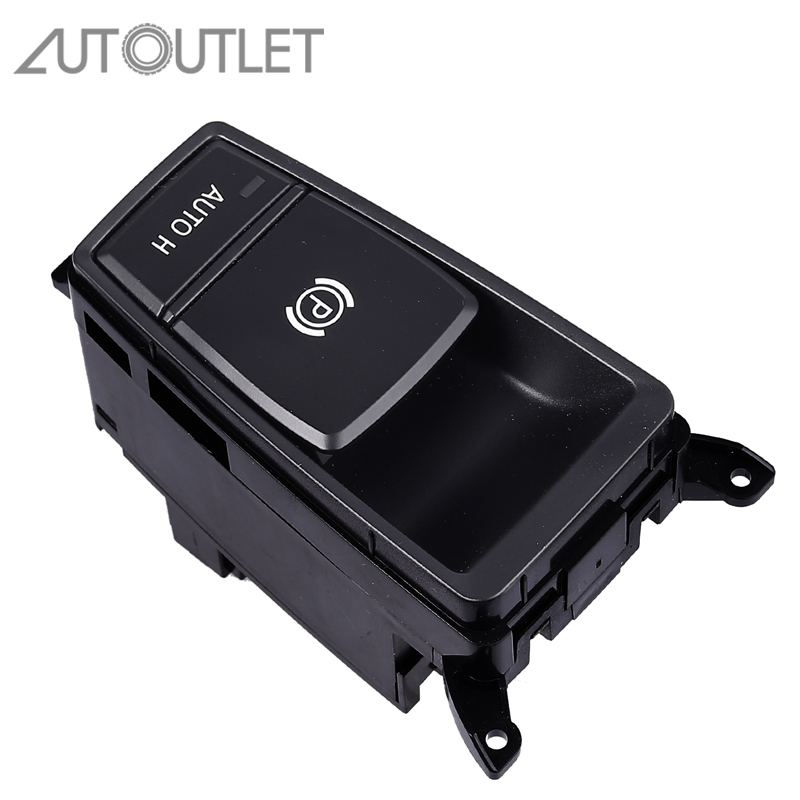 AUTOUTLET Electric Parking Handbrake Brake Switch Button For BMW X5 E70 2006 2013 61319148508 Parking Brake Control Switch-in Car Switches & Relays from Automobiles & Motorcycles