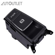 AUTOUTLET Electric Parking Handbrake Brake Switch Button For BMW X5 E70 2006 2013 61319148508 Parking Brake Control Switch