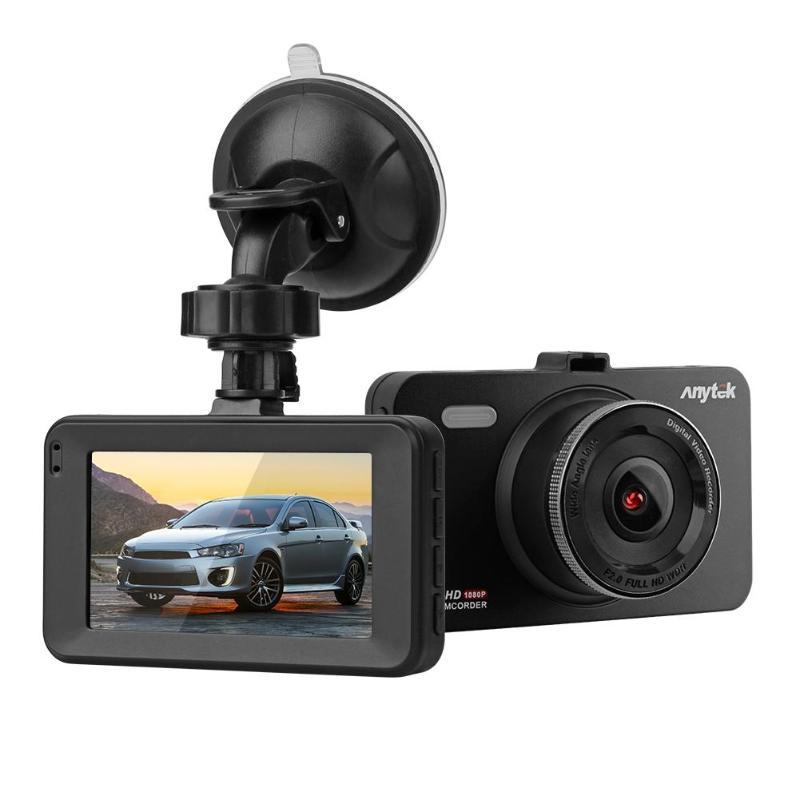 Anytek A78 3inch Mini 1080P FHD IPS Wide Angle 170 Degree Car DVR Camera Night Vision Video Recorder Dash Cam Driving Dashcam