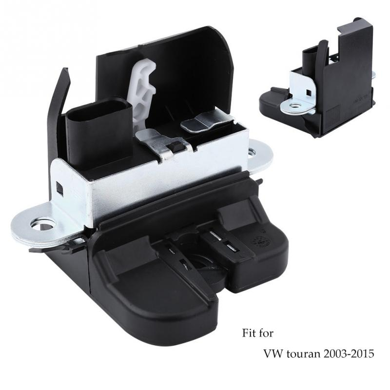 For VW Touran 2003-2015 Car Rear Trunk Tailgate Boot Lid Latch Lock Catch 1T0827505H 9B9 Auto Parts