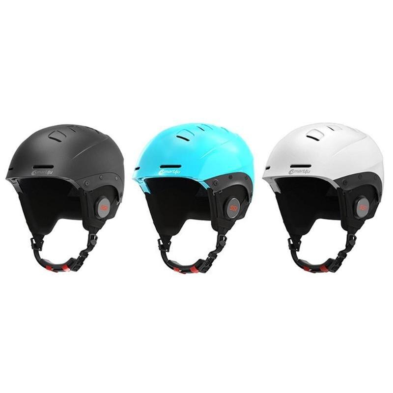 Xiaomiyoupin Smart4u SS1 Wireless Bluetooth Ski Helmet IPX4 Cycling Equipment Riding Cap