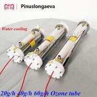 Pinuslongaeva 3g 5g 8g 10g 12g 15g 20g 40g 60g 100g/h Quartz tube Corona discharge ozone tube Ozone generator parts